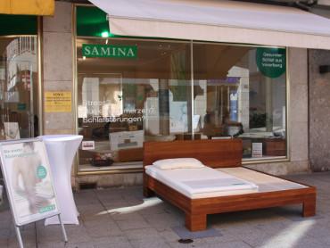 SAMINA Bettenfachgeschäft Bregenz