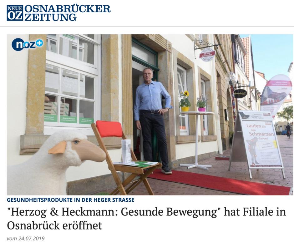 SAMINA Osnabrück Filiale eröffnet